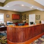 The reception desk at Farmington Dental Center in Farmington AR.