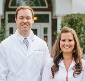 Dr. Gavin Trogdon and Dr. Brittany Stroope